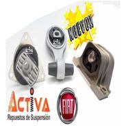 Kit 3 Soportes Motor Fiat Idea Motor 1.4 Fire Nafta