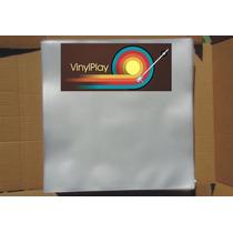 80 Plasticos Disco De Vinil 32x32x0,15+1 Capa