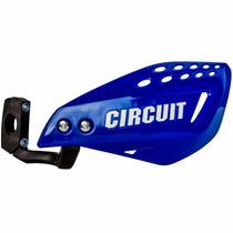 Protetor De Mão Circuit Vector Haste De Nylon Azul