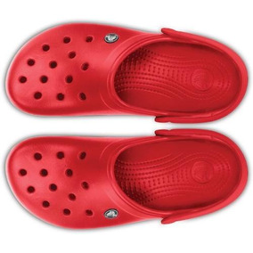 Sandalias Crocs Band 2.5 Rojo Mujer Indicy Envió Gra