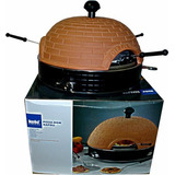 Forno De Assar Mini Pizza Tampa De Terracotta Kela Line