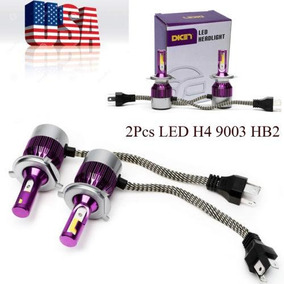 Viga De 2pc H4 9003 Hb2 Coche Led Luces Conve - 262759329063