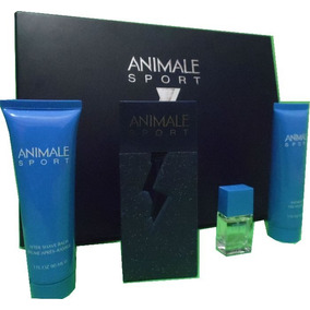 Kit Animale Sport Men 100ml 7,5ml+gel + Creme Barba 100g Cad