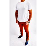 Kit 2 Calças Skinny Empório Ricci + 3 Shorts adidas