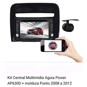 Multimídia 2din Completo Fiat Punto 2008 2009 2010 2011 2012