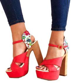 Zapatos Rojos Mujer Tacon - Zapatos en Mercado Libre Colombia f33e902343ea