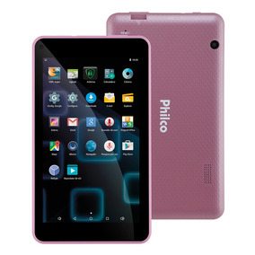 Tablet Ph70 8gb Wi-fi Tela 7 Android Rosa Philco Bivolt