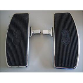 Pedaleira Plataforma Moto Custon Dianteira Ou Traseira