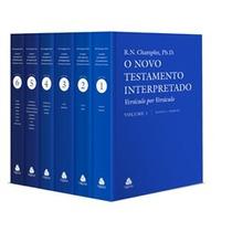 O Novo Testamento Interpretado - Champlin - Frete Gratis
