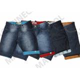 Bermudas Jeans Plusize Masculina 48 A 56 Tamanho Grande