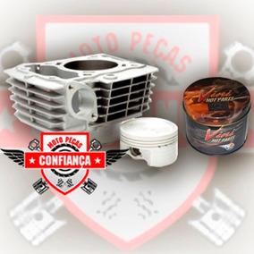 Kit Cilindro Pistão Aneis Titan/fan/nxr150 Vini 2,00 160cc