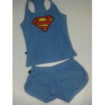Pijamas Dama Adolescentes Batman Superman Minions Capitan