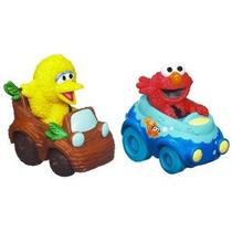 Sesame Street Elmo Y Big Bird Playskool Racers