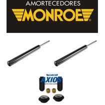 Par Amortecedor Dianteiro Kit Santana 1996a2006 Monroe Axios