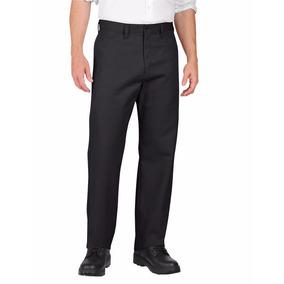 Dickies Lp812 Pantalón Gabardina Trabajo Tallas Extras Negro