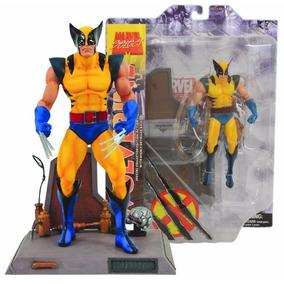 Boneco Wolverine Marvel Diamond Select X-men Lacrado