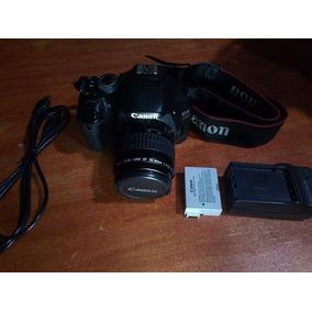 Camara Canon Eos Reflex 550d T2i + Lente 35-80mm + Accesorio