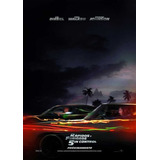 Poster Original Cine Rápidos Y Furiosos 5in Control (motivo