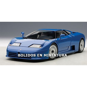 Bugatti Eb110 Gt Azul - Supercar Azul - Autoart 1/18