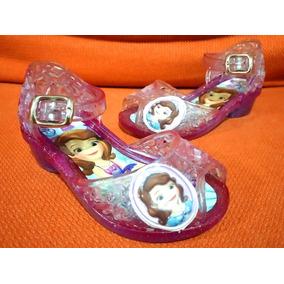 Sandak Sandalias Jelly Plástico Princesa Sofia No. 13 Luces