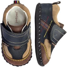 Zapatos Bebe Pediped - Clive Navy - Envio Gratis