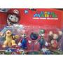 Set 4 Muñecos Super Mario Bros 12 Cm. - 2 Motivos Distintos!