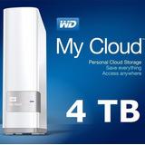 Wd My Cloud 4tb Disco Externo Red Nas En Tu Nube A Pedido