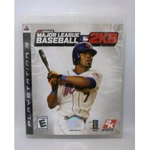 Major League Baseball 2k8 Mlb - Ps3 Usado Midia Fisica