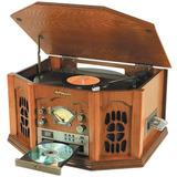 Sistema Oak Anders Nicholson Radiola Lps Mp3 Casetes