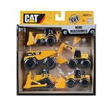 Toy State Caterpillar Mini Máquina 5-pack (estilo Puede Vari