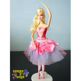Boneca Barbie E As Sapatilhas Mágicas Bailarina Mattel