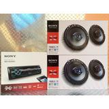 Auto Estéreo Sony Méx-n5200bt Bluetooth Con 4 Bocinas 6.5