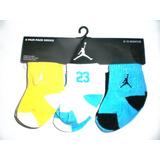 Nike Air Jordan Recién Nacido Calcetines De Bebé, 6 Pairs,