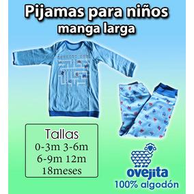 Pijama Ovejita Manga Larga Para Niños