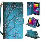 Blu Neo X Lte Android N0010uu Case Customerfirst Flip -aqua