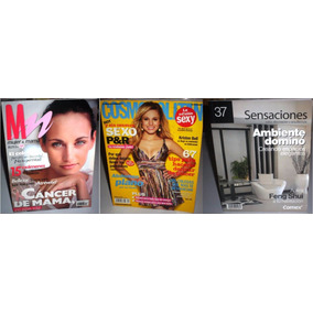 3 Revista Mujer & Mama, Cosmopolitan, Sensaciones Decoracion