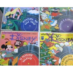 *sll* Lote Com 21 Compacto Vinil Historinha Disney Anos 70