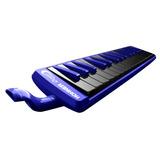 Pianica Melódica Hohner Ocean 32 Azul Y Negra Nueva Garantia
