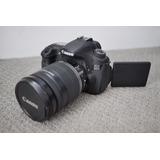 Cámara Canon Eos 60d Digital Con Ef-s 18-55mm