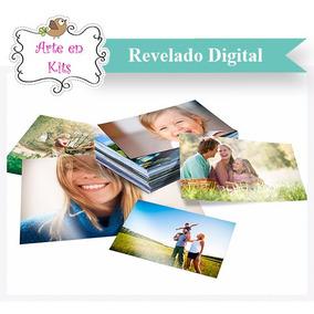 Revelado Digital De Fotos 13x18 X200 Brillantes + 5 Fotos A4