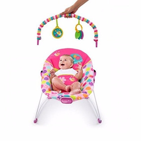 Silla Mecedora Bright Start Con Vibracion Nena