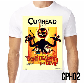 Playera Retromania Cuphead And Mugman Devil Poster (3x $600)