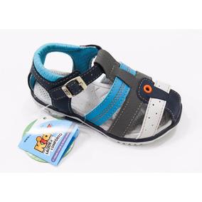 Kidy Sandália Equilíbrio Baby Marinho Azul Nº 18 Ao Nº 24