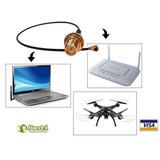 Cable Pigtail Ufl Sma - Antena Wifi Drone Laptop 17-25 Cm.