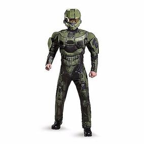 Disfraz Master Chief Traje Halo Master Adulto Hombre