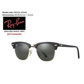 3527b45a49 ... 50% off gafas rayban club master rb3016 w0365 originales 85730 aefa0