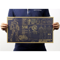 Homem De Ferro Projeto Mark 6 Poster