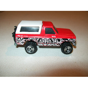 Hot Wheels Ford Bronco Alaska Trek Tailandia 1980