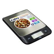 Gramera Balanza De Cocina Kalley, 1g A 5kg, Garantía 2 Años