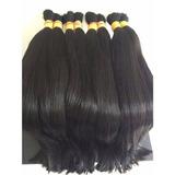 Cabelo Humano Natural Liso Natural 70/75cm 150gr- Mega Hair